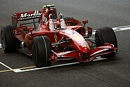Podium - Formel 1 2007, China GP, Shanghai, Bild: Sutton
