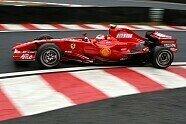 Kimi Räikkönen bei Ferrari - Formel 1 2007, Verschiedenes, Bild: Sutton