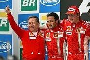 Podium - Formel 1 2007, Brasilien GP, São Paulo, Bild: Sutton