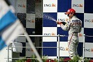 Podium - Formel 1 2008, Ungarn GP, Budapest, Bild: Sutton