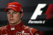 Kimi Räikkönen bei Ferrari - Formel 1 2008, Verschiedenes, Bild: Sutton