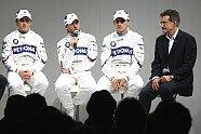 Launch BMW Sauber F1.09 - Formel 1 2009, Präsentationen, Bild: Hartley/Sutton