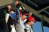 Podium - Formel 1 2009, Australien GP, Melbourne, Bild: Sutton