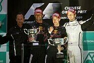 Podium - Formel 1 2009, China GP, Shanghai, Bild: Sutton