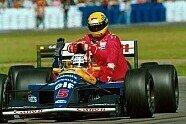 60. Geburtstag: Ayrton Sennas Karriere in Bildern - Formel 1 1991, Verschiedenes, Bild: Sutton