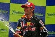 Podium - Formel 1 2009, Spanien GP, Barcelona, Bild: Sutton