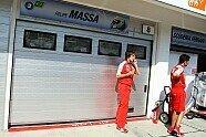 Massa-Unfall - Formel 1 2009, Verschiedenes, Ungarn GP, Budapest, Bild: Sutton