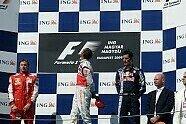 Podium - Formel 1 2009, Ungarn GP, Budapest, Bild: Sutton