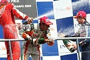 Podium - Formel 1 2009, Belgien GP, Spa-Francorchamps, Bild: Sutton