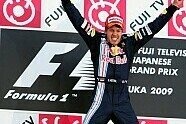 Podium - Formel 1 2009, Japan GP, Suzuka, Bild: Sutton