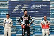 Podium - Formel 1 2009, Brasilien GP, São Paulo, Bild: Sutton