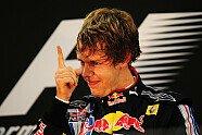 Podium - Formel 1 2009, Abu Dhabi GP, Abu Dhabi, Bild: Red Bull