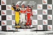 Podium - Formel 1 2010, Australien GP, Melbourne, Bild: Sutton