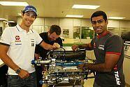 Donnerstag - Formel 1 2010, Großbritannien GP, Silverstone, Bild: Presse HRT