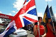 Girls - Formel 1 2010, Großbritannien GP, Silverstone, Bild: Sutton