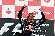 Podium - Formel 1 2010, Großbritannien GP, Silverstone, Bild: Sutton