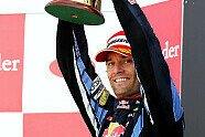 Podium - Formel 1 2010, Großbritannien GP, Silverstone, Bild: Red Bull/GEPA