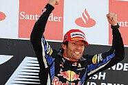 Podium - Formel 1 2010, Großbritannien GP, Silverstone, Bild: Red Bull