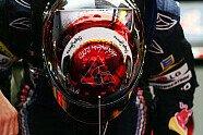 Vettels Helme im Wandel der Zeit - Formel 1 2010, Verschiedenes, Bild: Sutton