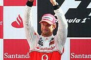 Podium - Formel 1 2010, Italien GP, Monza, Bild: Sutton