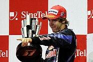 Podium - Formel 1 2010, Singapur GP, Singapur, Bild: Red Bull/GEPA