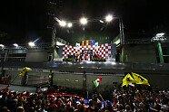 Podium - Formel 1 2010, Singapur GP, Singapur, Bild: Sutton