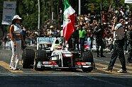 Sauber Showrun in Mexiko - Formel 1 2011, Verschiedenes, Bild: Sauber