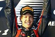 Formel-1-Kappen im Wandel der Zeit - Formel 1 2011, Verschiedenes, Bild: Pirelli