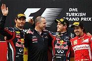 Podium - Formel 1 2011, Türkei GP, Istanbul, Bild: Red Bull