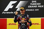 Podium - Formel 1 2011, Türkei GP, Istanbul, Bild: Pirelli