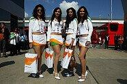Girls - Formel 1 2011, Großbritannien GP, Silverstone, Bild: Sutton