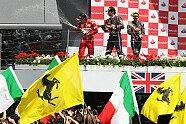 Podium - Formel 1 2011, Großbritannien GP, Silverstone, Bild: Sutton