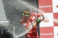 Podium - Formel 1 2011, Großbritannien GP, Silverstone, Bild: Pirelli