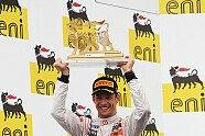 Podium - Formel 1 2011, Ungarn GP, Budapest, Bild: Sutton