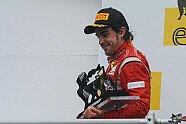 Podium - Formel 1 2011, Ungarn GP, Budapest, Bild: Ferrari