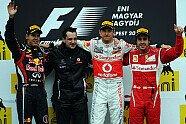Podium - Formel 1 2011, Ungarn GP, Budapest, Bild: Red Bull