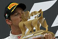 Podium - Formel 1 2011, Ungarn GP, Budapest, Bild: McLaren
