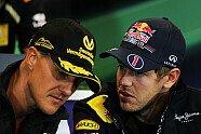 Schumacher & Vettel: Die schönsten Bilder von Michael, Mick und Sebastian - Formel 1 2011, Verschiedenes, Bild: Sutton