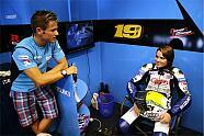 Elena Myers testet Suzuki - MotoGP 2011, Indianapolis GP, Indianapolis, Bild: Suzuki