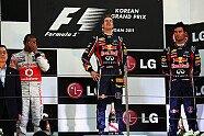 Podium - Formel 1 2011, Korea GP, Yeongam, Bild: Sutton