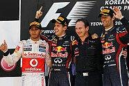 Podium - Formel 1 2011, Korea GP, Yeongam, Bild: Pirelli
