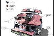 Visionäre Filmautos von Mercedes-Benz - Auto 2011, Verschiedenes, Bild: Daimler AG