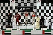 Podium - Formel 1 2011, Abu Dhabi GP, Abu Dhabi, Bild: Sutton