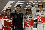 Podium - Formel 1 2011, Abu Dhabi GP, Abu Dhabi, Bild: Pirelli