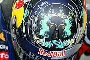 Vettels Helme im Wandel der Zeit - Formel 1 2011, Verschiedenes, Bild: Sutton