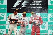 Podium - Formel 1 2012, Malaysia GP, Sepang, Bild: Sutton