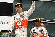 Podium - Formel 1 2012, China GP, Shanghai, Bild: Sutton