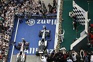 Podium - Formel 1 2012, China GP, Shanghai, Bild: Mercedes AMG