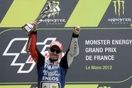 Sonntag - MotoGP 2012, Frankreich GP, Le Mans, Bild: Yamaha Factory Racing