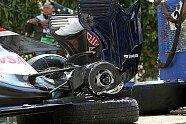 Pastor Maldonados Unfälle - Formel 1 2012, Verschiedenes, Bild: Sutton